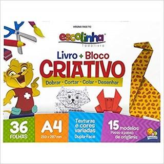 Livro - Livro + Bloco Criativo - Origami -Todolivro