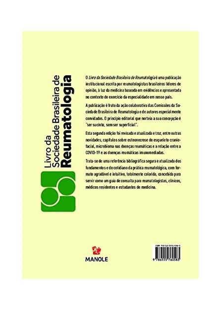 Livro - Livro da Sociedade de Reumatologia - Marques Neto 1ª edição