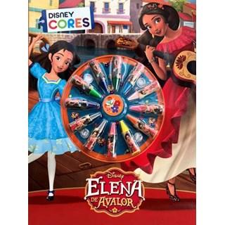 Livro - Livro de Colorir  - Cores - Elena De Avalor - Disney