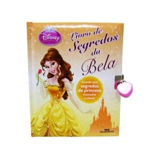 Livro - Livro De Segredos Da Bela - Disney