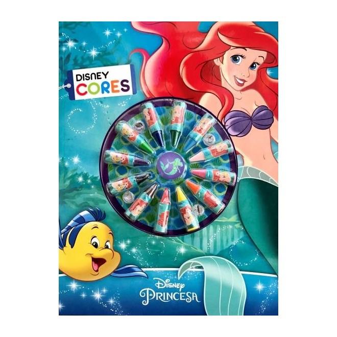 Livro -Livro Para Colorir - A pequena Sereia - Cores - Disney