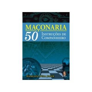 Livro Maçonaria 50 Instruções de Companheiro - Madras