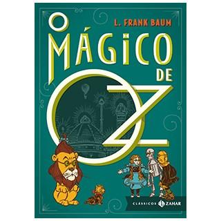 Livro - Mágico de Oz - Clássicos Zahar (Livro de Bolso Luxo) - Baum