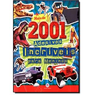 Livro - Mais de 2001 Adesivos Incríveis Para Meninos - Ciranda Cultural