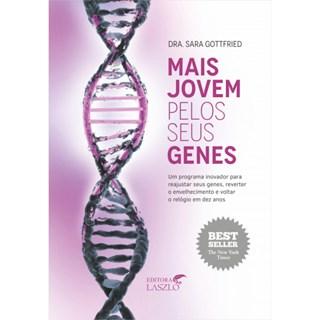 Livro Mais Jovem Pelos Seus Genes - Gottfried - Laszlo