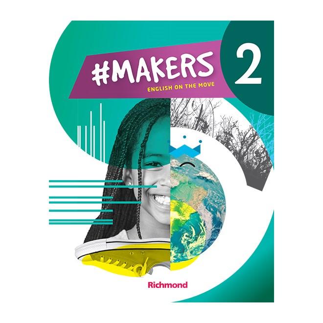 Livro - Makers 2 - English on the Move - 7 Ano - Richmond