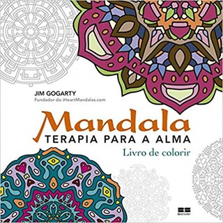 Livro - Mandala: Terapia para a Alma: Livro para Colorir Gogarty