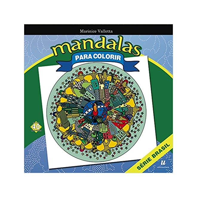 Livro - Mandalas Para Colorir - Valletta - Baralho