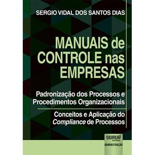 Livro - Manuais de Controle nas Empresas - Dias - Juruá
