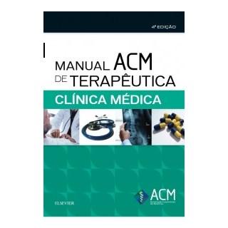 Livro - Manual ACM de Terapêutica em Clínica Médica