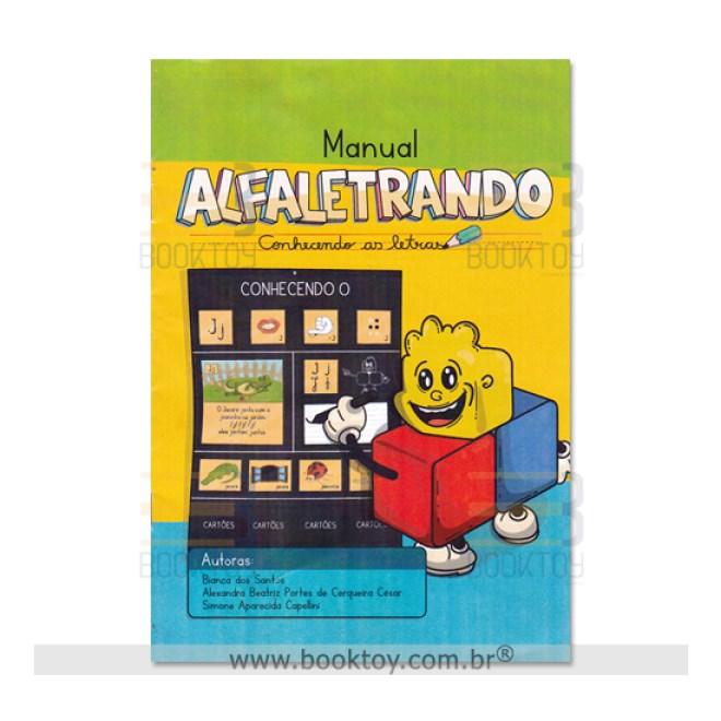 Livro - Manual Alfaletrando - Santos