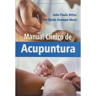 Livro - Manual Clínico de Acupuntura - Bittar