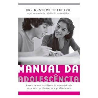 Livro - Manual da adolescência - Teixeira 1º edição