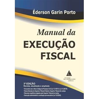 Livro - Manual da Execução Fiscal - Porto