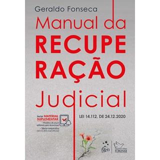 Livro Manual da Recuperação Judicial - Fonseca - Forense
