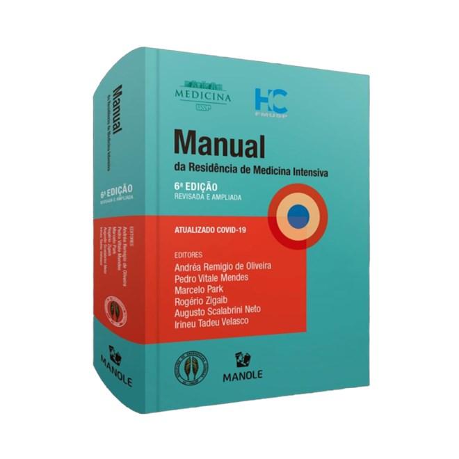 Livro - Manual da Residência em Medicina Intensiva - Scalabrini USP - Manole