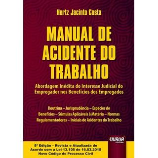 Livro - Manual de Acidente do Trabalho - Costa