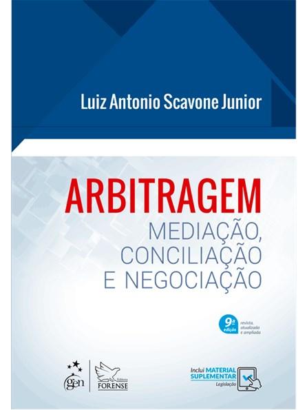 Livro - Manual de Arbitragem - Mediação e Conciliação - Scavone