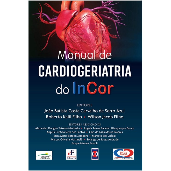 Livro Manual de CardioGeriatria do InCor - Filho - Editora dos Editores