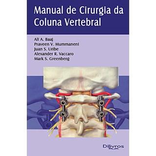 Livro - Manual de Cirurgia da Coluna Vertebral - Vaccaro