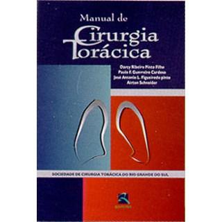 Livro - Manual de Cirurgia Torácica - Pinto Filho - SCT-RS