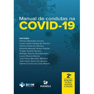 Livro Manual de Condutas na Covid-19 - Correia - Manole
