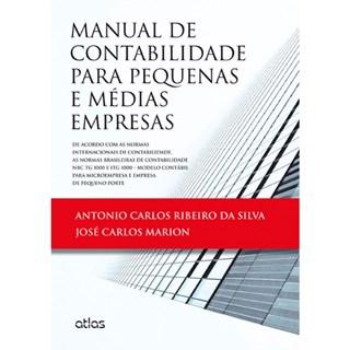 Livro - Manual de Contabilidade para Pequenas e Médias Empresas - Silva
