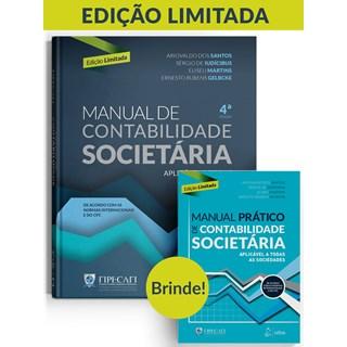 Livro - Manual de Contabilidade Societária - Aplicável a Todas as Sociedades - Fipecafi 3ª edição