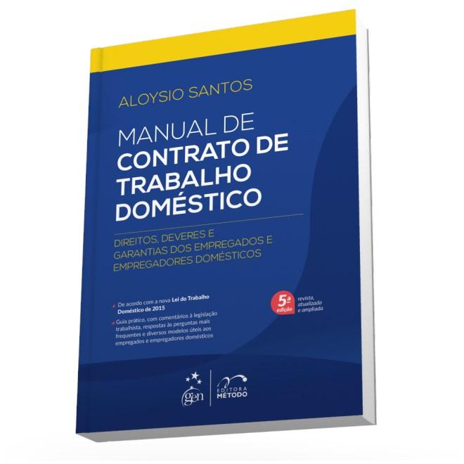 Livro - Manual de Contrato de Trabalho Doméstico - Santos