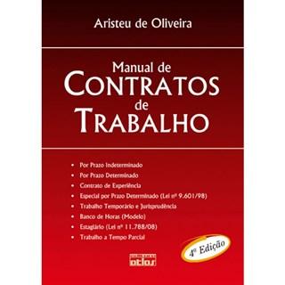 Livro - Manual de Contratos do Trabalho - Oliveira