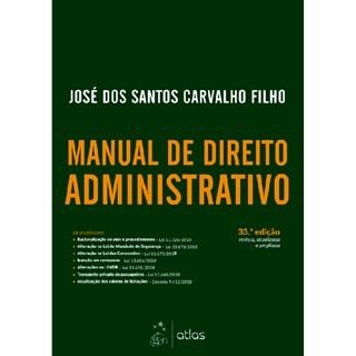 Livro - Manual de Direito Administrativo - Carvalho Filho