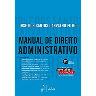 Livro - Manual de Direito Administrativo - Carvalho Filho - Atlas