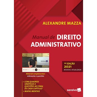 Livro Manual De Direito Administrativo - Mazza - Saraiva