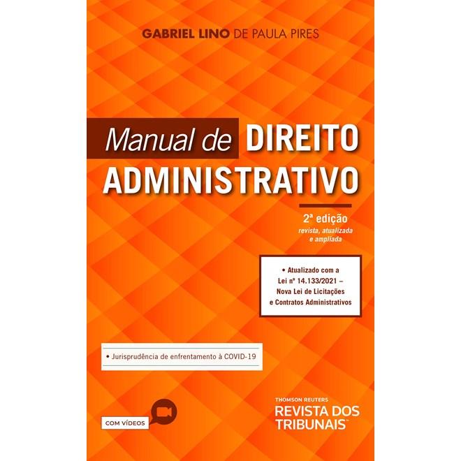 Livro - Manual De Direito Administrativo - Pires