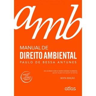 Livro - Manual de Direito Ambiental - Antunes