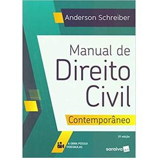 Livro - Manual De Direito Civil Contemporâneo - Schreiber