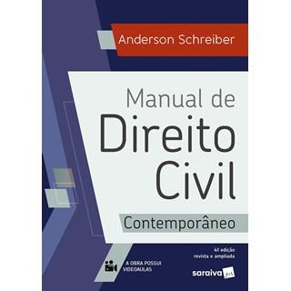Livro Manual de Direito Civil Contemporâneo - Schreiber - Saraiva