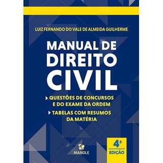 Livro Manual de Direito Civil - Guilherme - Manole