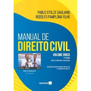 Livro Manual de Direito Civil: Volume Único - Gagliano - Saraiva