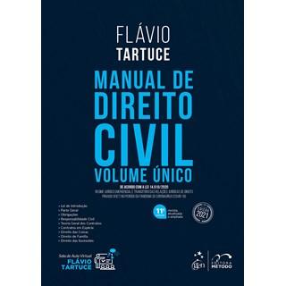 Livro Manual de Direito Civil - Volume Único - Tartuce - Método