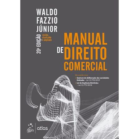 Livro - Manual de Direito Comercial - Fazzio Júnior