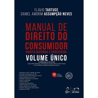 Livro - Manual de Direito do Consumidor - Direito Material e Processual - Vol. Único - TARTUCE 9º ed