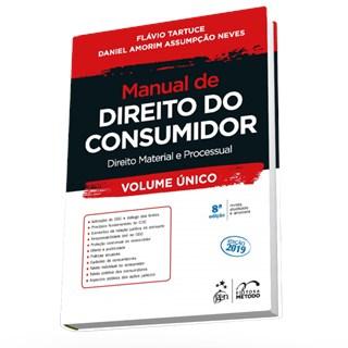 Livro - Manual de Direito do Consumidor - Vol. Único - Tartuce