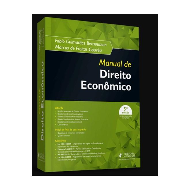 Livro - Manual de Direito Econômico - Bensoussan