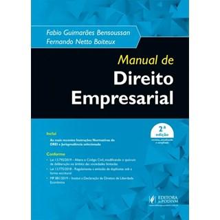 Livro - Manual De Direito Empresarial - Boiteux