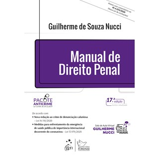 Livro Manual de Direito Penal - Nucci - Forense