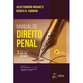 Livro - Manual de Direito Penal - Parte Especial - Vol. 3 - Mirabete