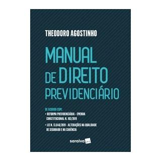 Livro - Manual de Direito Previdenciário - Agostinho 1º edição