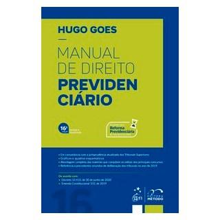 Livro - Manual de Direito Previdenciário - Goes - Método