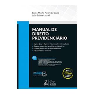 Livro - Manual de Direito Previdenciário - Lazzari